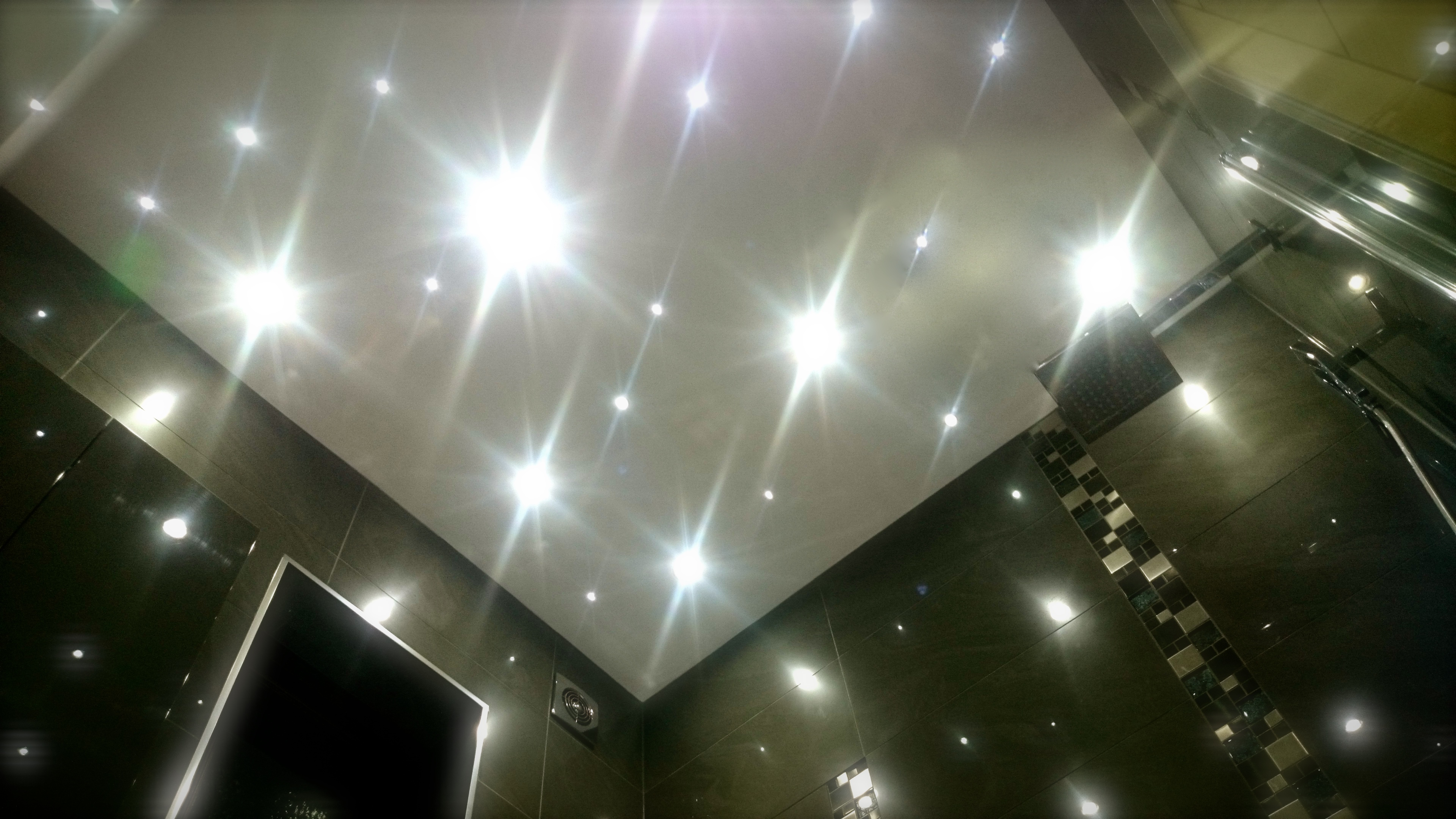 Bathroom lighting star lights
