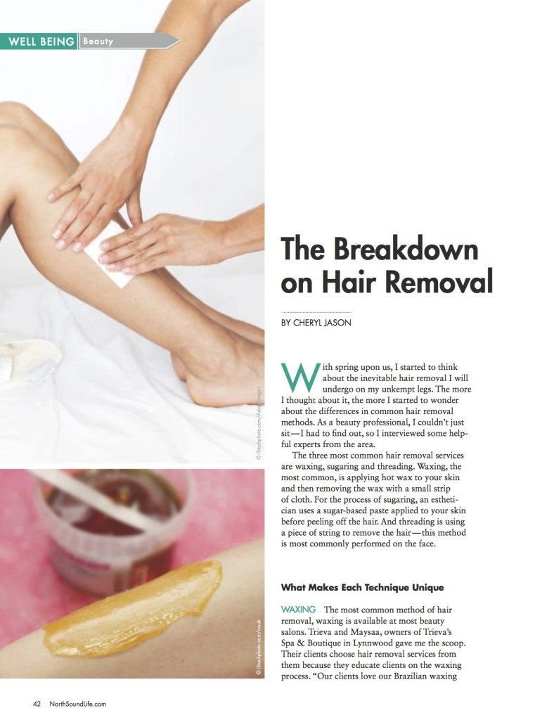 The Breakdown on Hair Removal