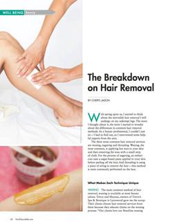 The Breakdown on Hair Removal