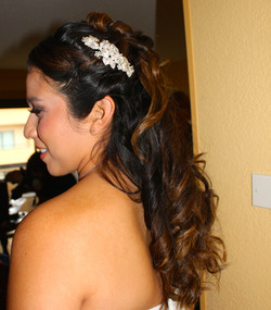 bridal hair san diego