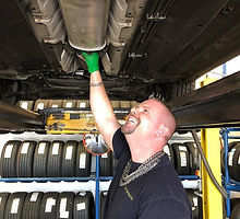Exhaust systems at Flo Tyres and Accesso