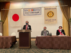 通算第1850回(恩田会長・天道幹事年度 第27回)例会を開催致しました