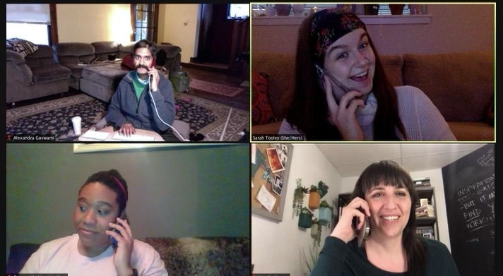 Phone & Text Banking Zoom Party