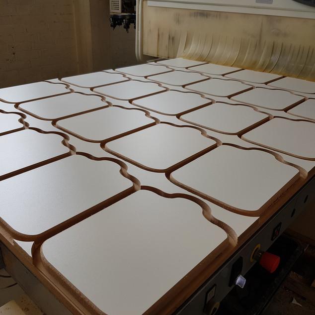 CNC bed