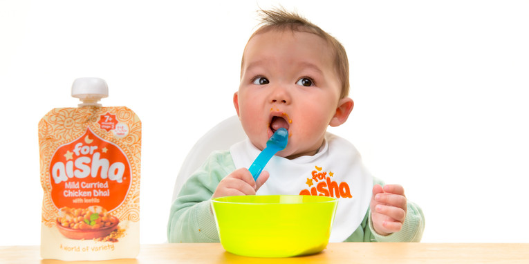 Baby Food Photography | Midlands | Bailey Lonsdale
