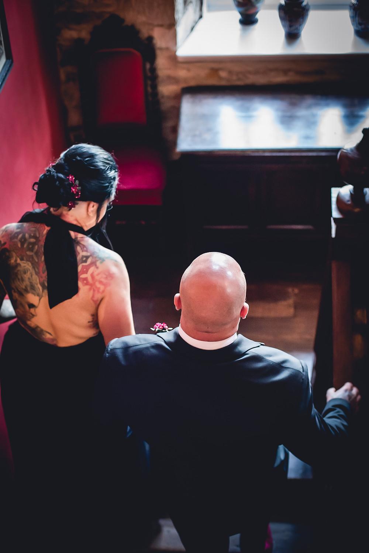Tattooed Bride at Allington