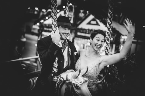 Fairground Wedding in Nottingham