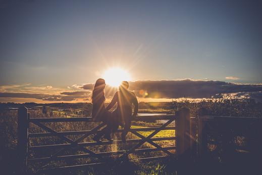 Bailey Lonsdale | Couple at Sunset | Engagement Photoshoot | Nottingham