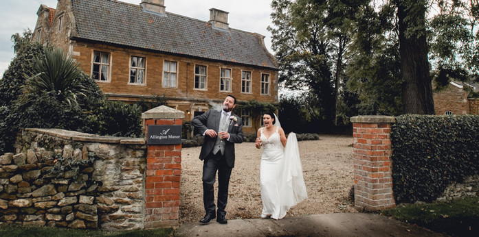 Relaxed Wedding Photography at Allington Manor, Grantham