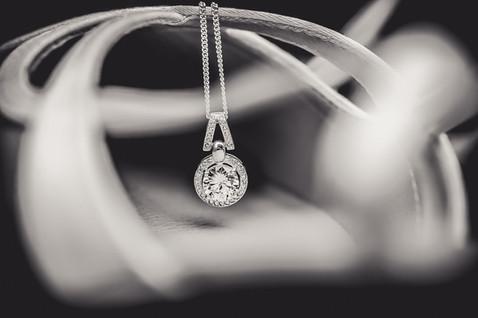 Close up of Wedding Jewellery