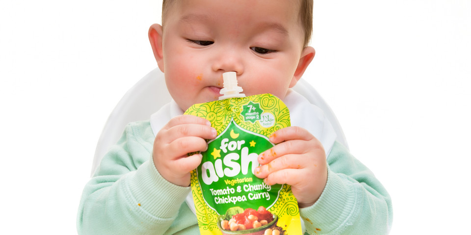 Commercial Photography | Baby Food | For Aisha