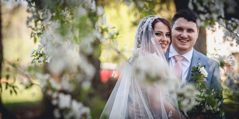 Wedding Portrait at the Pumping Station, Leicester