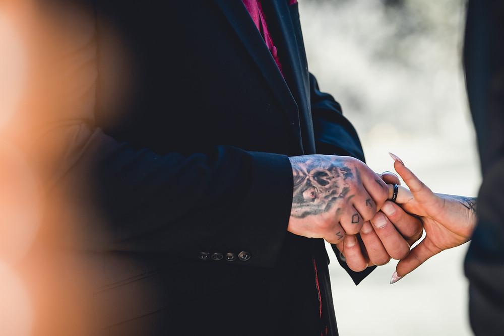 Black Wedding Rings