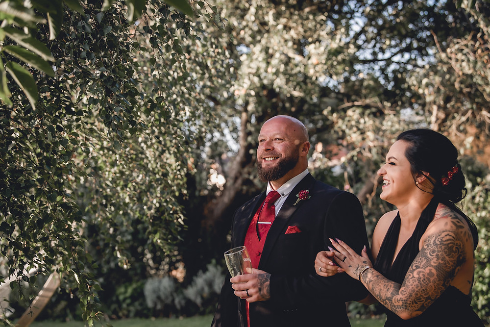 Allington Manor Wedding Couple