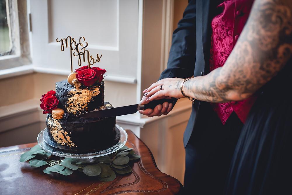 Chocolate Cake Cutting