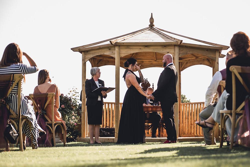 Outdoor Wedding in Pagoda