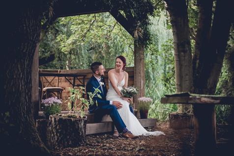 Woodland Wedding at Hothorpe Hall