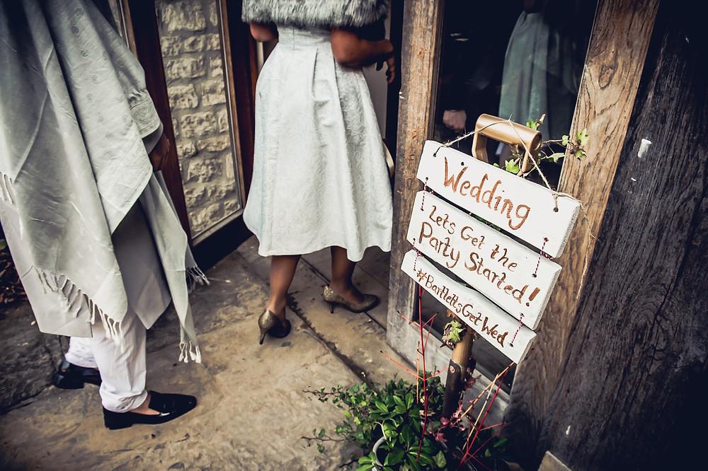 Photography of Wedding Reception Sulgrave Manor Banbury
