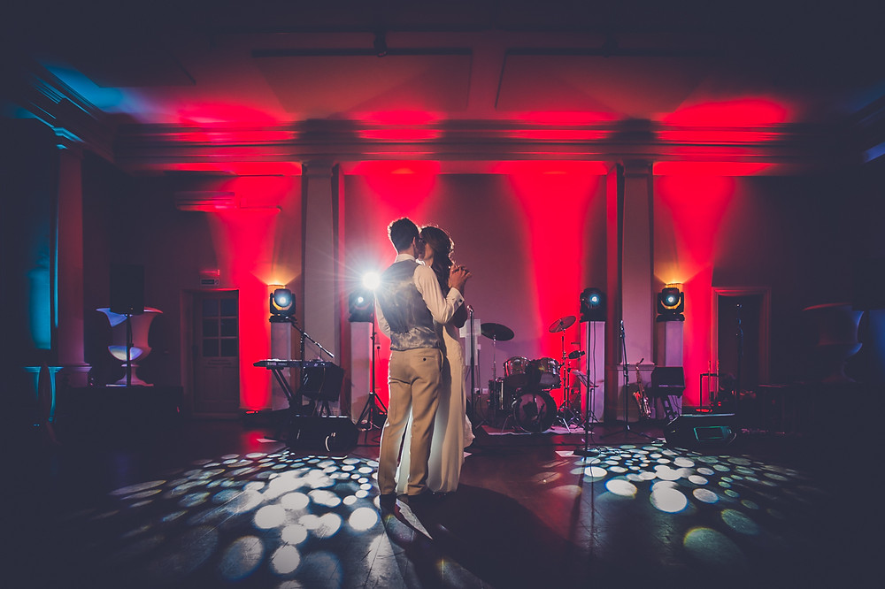 Bride and Groom's First Dance, Newark