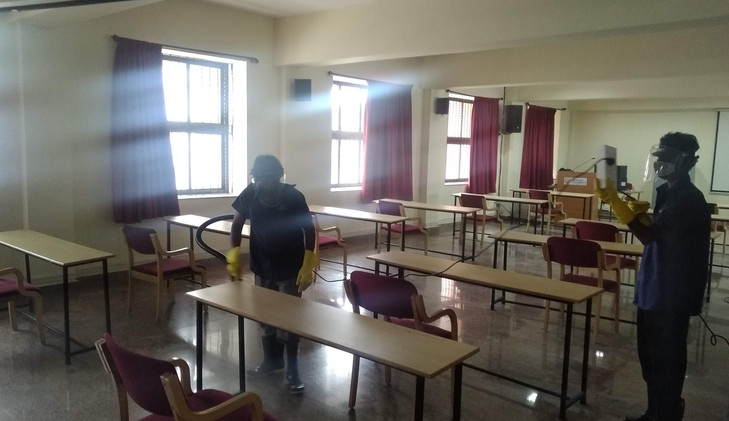 Fogging After Each Examinations