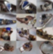 Meteorite Jewelry, sikhote Alin, Nantan, Campo del Cielo