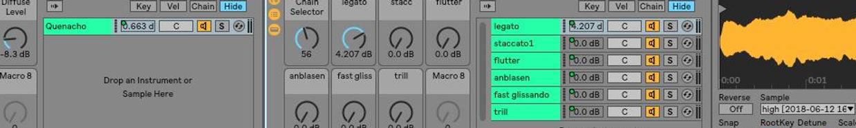 free Ableton live rack Quenacho