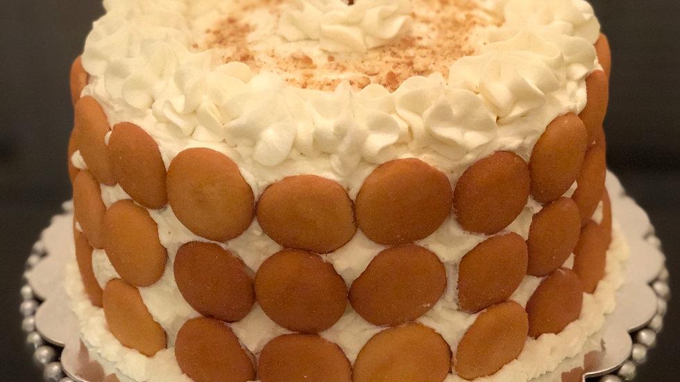 Banana Pudding Cake (cream cheese frosting)