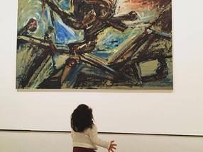 Alumbramento - A nenê e a pintura