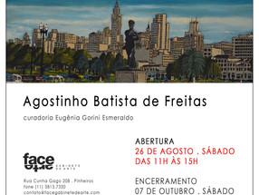 Convite para Exposição de Pintura - FACE Galeria e Gabinete de Arte