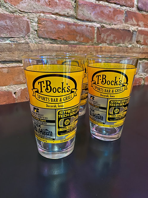 T-Bock's Pint Glass
