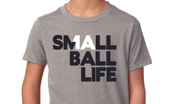 Small Ball Life - Next Level Youth Tshirt