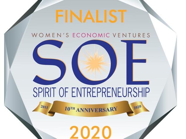 2020 Spirit of Entrepreneurship Winner