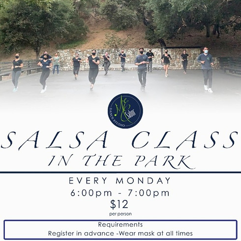 Salsa Class in the Park