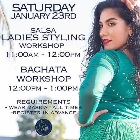 Salsa Ladies Styling &  Footwork Bachata Workshop