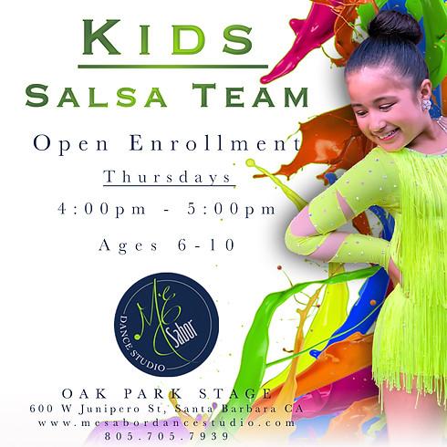Kids Salsa Team