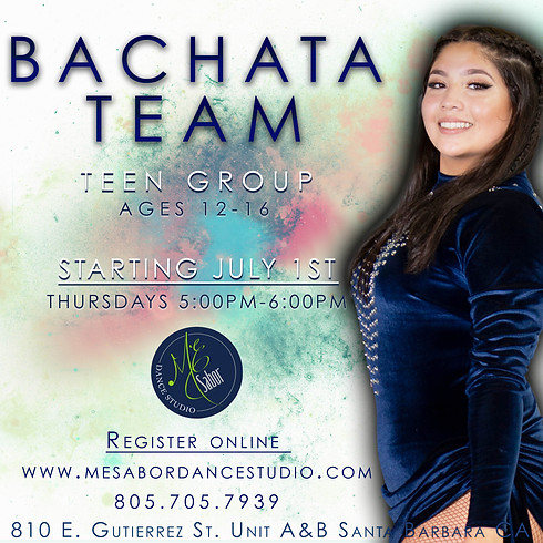 Teen Bachata Team Registration
