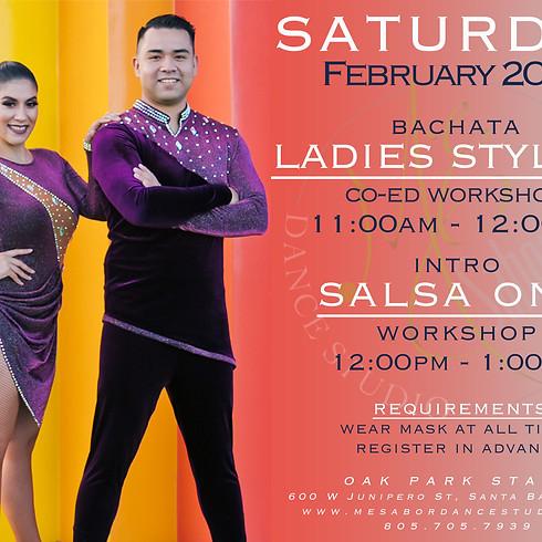 Bachata Ladies Styling & Intro Salsa On2 Workshop