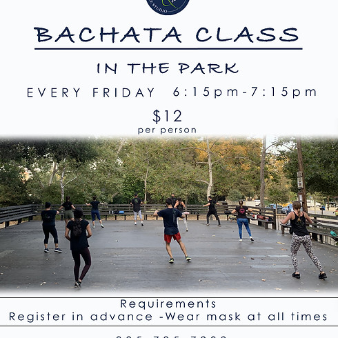 Bachata Class in the Park