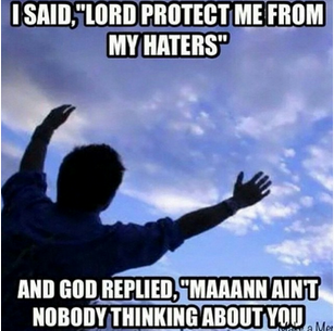 Why Believers Shouldn't Worry About Haters