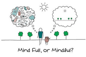 What benefits have you found from your mindful practice?