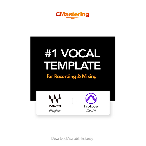 Vocal Template for Protools Using Waves Plugins
