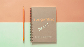 Songwriting block, why it happensand 6 ways to overcome it.