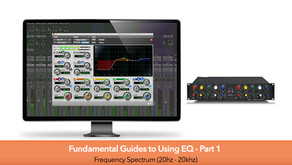 Fundamental Guides to Using EQ Part #1