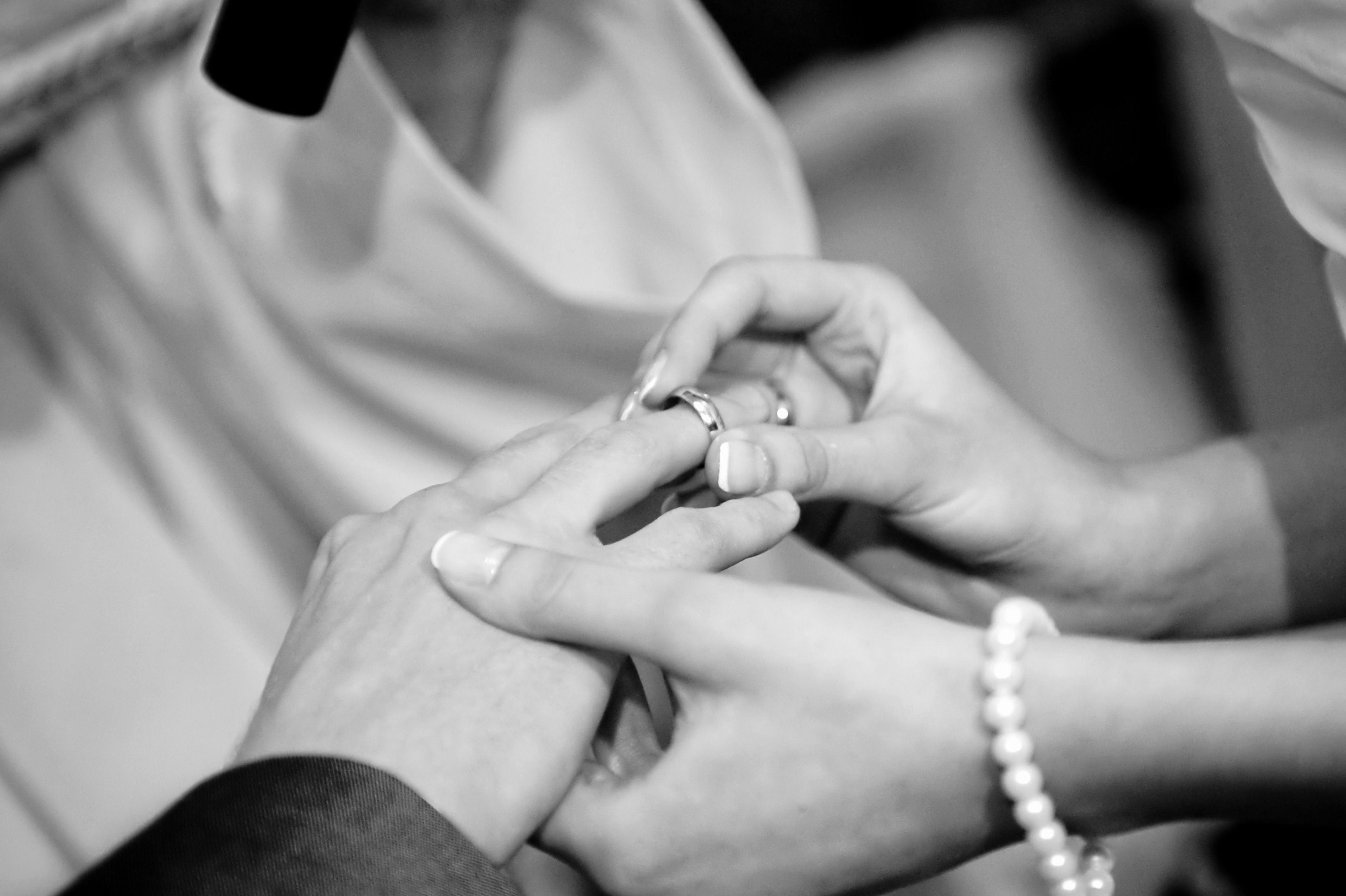 Hochzeit, Herz, Liebe, Ehering