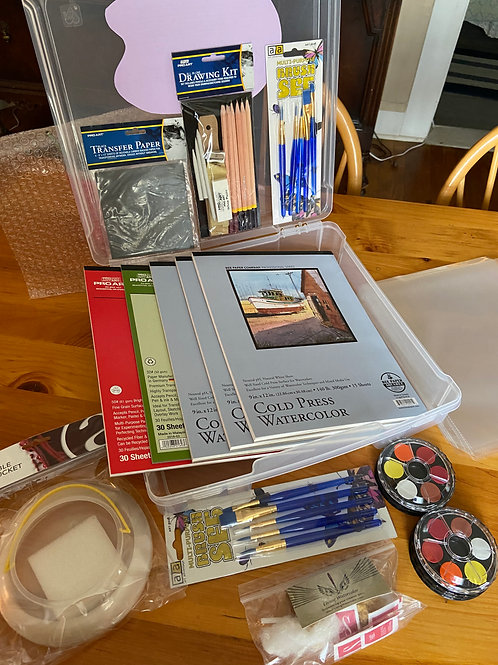 Watercolor Complete Kit