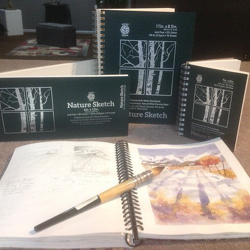 """8.5""""x11"""" Sketch book"""