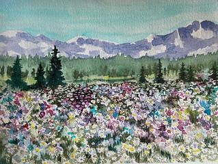 Splatter Wildflowers