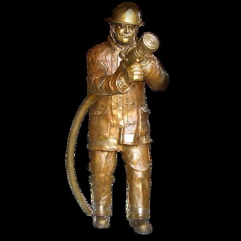 Fireman Sculpture