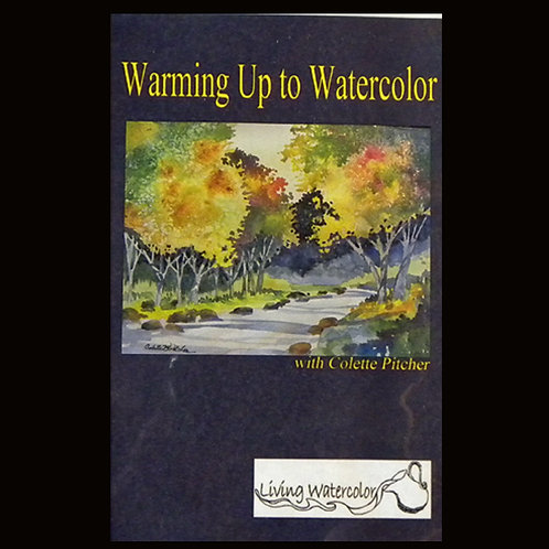 "DVD set - ""Warming up to Watercolor"" for beginners"