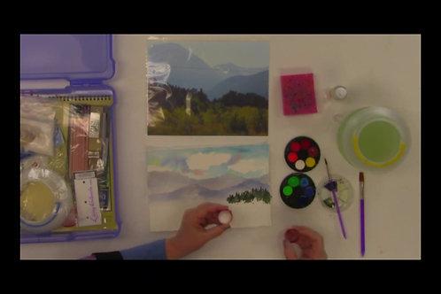 Learn to paint a Landscape (part 3)